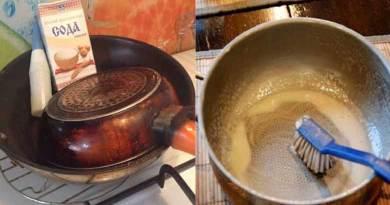 Հեշտ և արդյունավետ միջոց՝ սևացած թավաներն ու կաթսաները սպիտակեցնելու համար