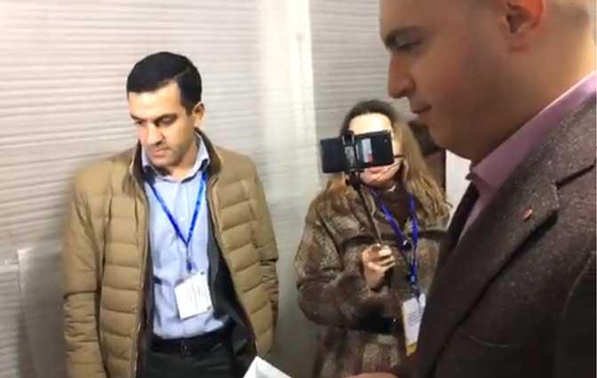 «Հանձնաժողովի նախագահ, նկատողություն արեք լրագրողին» Արմեն Աշոտյան