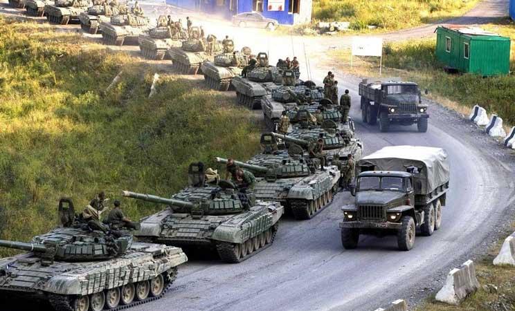 ռուսական զորքեր