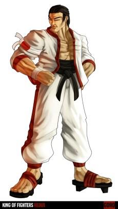 king_of_fighters_redux_goro_by_digitalninja-d31gfec