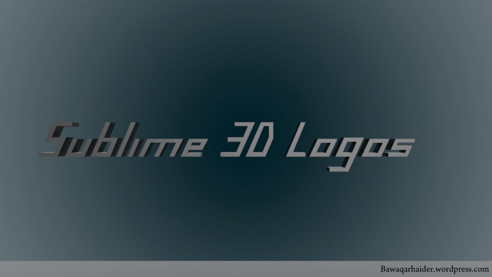 3D Logos and Designs (1/4)
