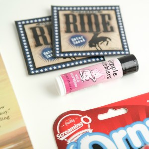 Ride 'Em Cowboy Fall 2016 Bawdy Bookworms Box