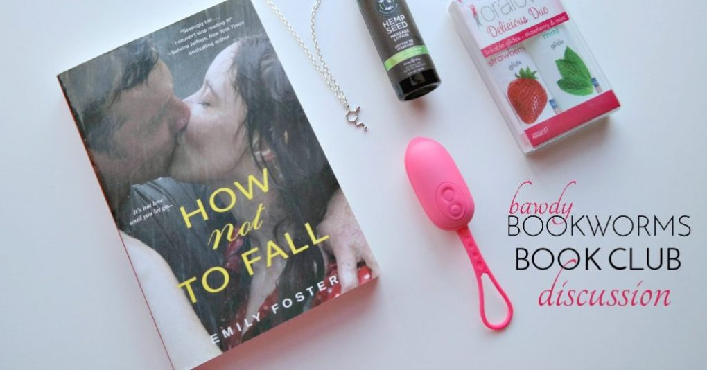 How Not to Fall book club from Nerd Love box