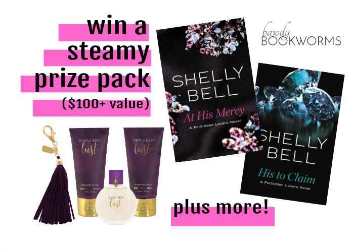 Enter to win a steamy prize pack valued over $100