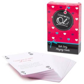 Dirty Talk Playing Cards