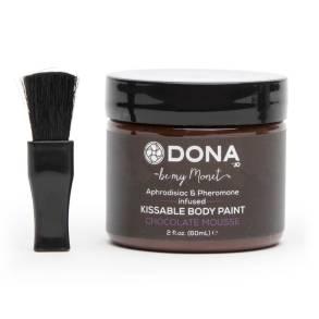 Dona Jo chocolate body paint