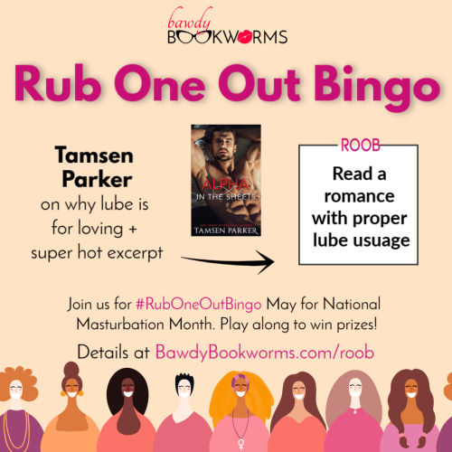 Tamsen Parker Rub One Out Bingo