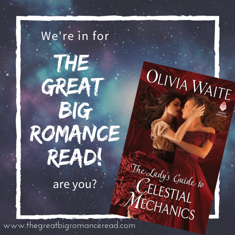The Great Big Romance Read 2019 features The Lady's Guide to Celestial Mechanics