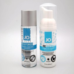Toy Care Kit with System Jo Lube & Toy Cleaner