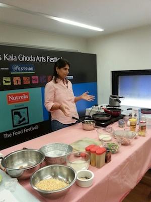 Kala Ghoda 2014 Parsi food workshop