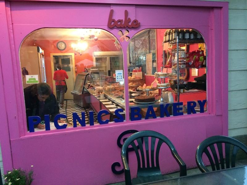 Picnic bakery at Franz Josef