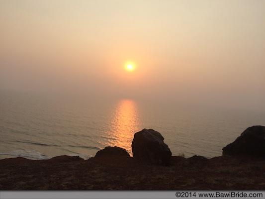 Ganpatipule Sunset