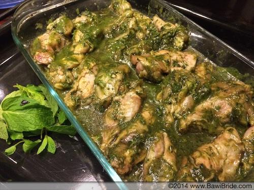Choi-Fudna Wings in Baking Tray