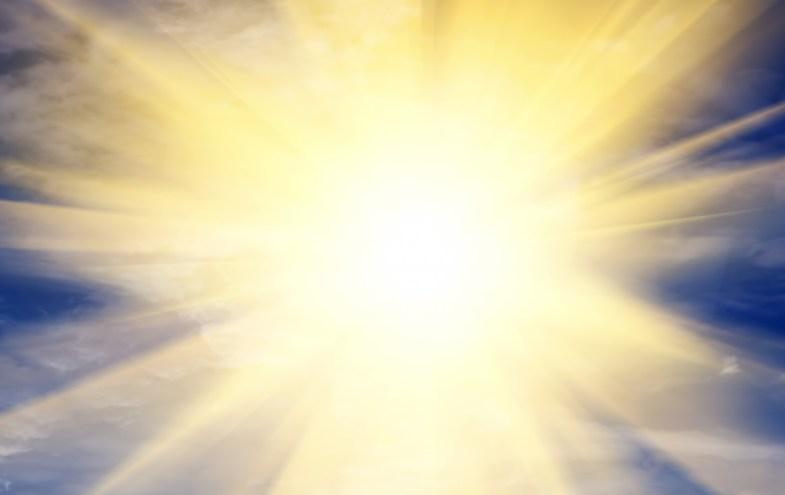 Die Sonne - eine große Infrarotheizung