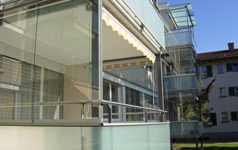 Bekannt Balkonverglasung selbst machen | Bauen und Wohnen in der Schweiz DO37