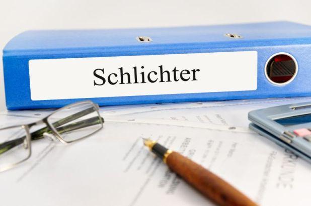 """Text """"Schlichter"""""""