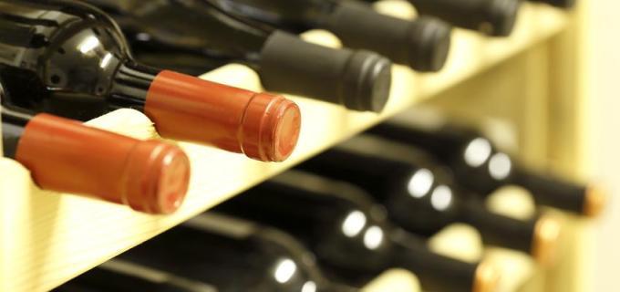 Weinlagerung zu Hause