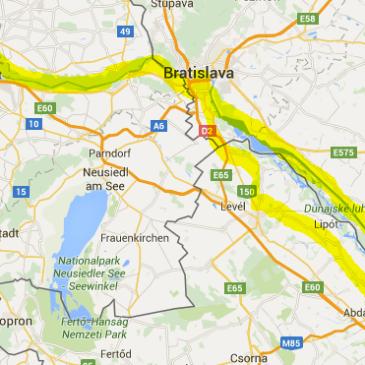 A 3 Days trip along the Danube, Vienna – Bratislava – Györ – Bratislava – Vienna