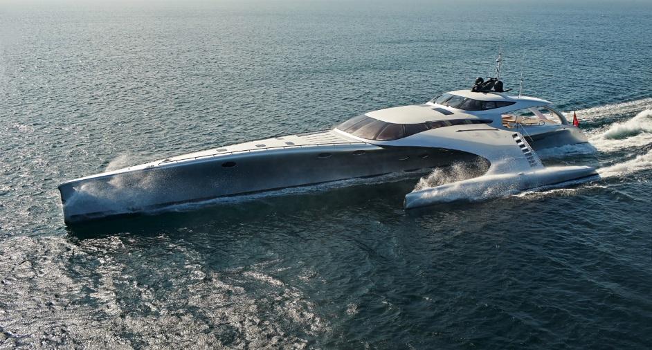 Adastra Superyacht Designed By John Shuttleworth Baxtton