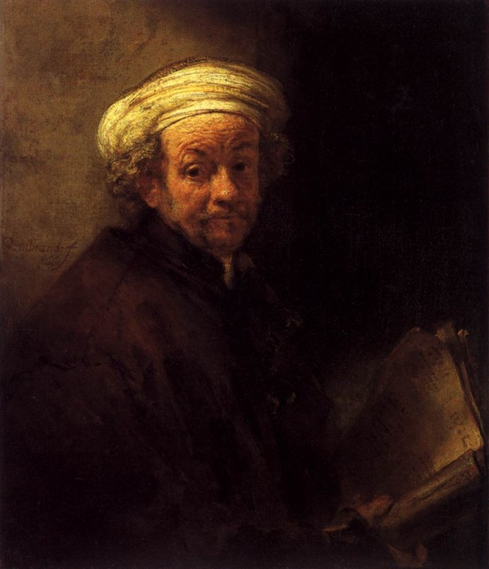 Self-portrait as the Apostle St.Paul (1661)