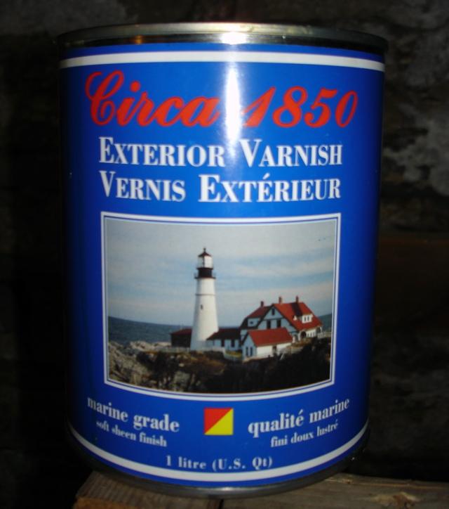 Circa 1850 Polymerized Tung Oil Varnish
