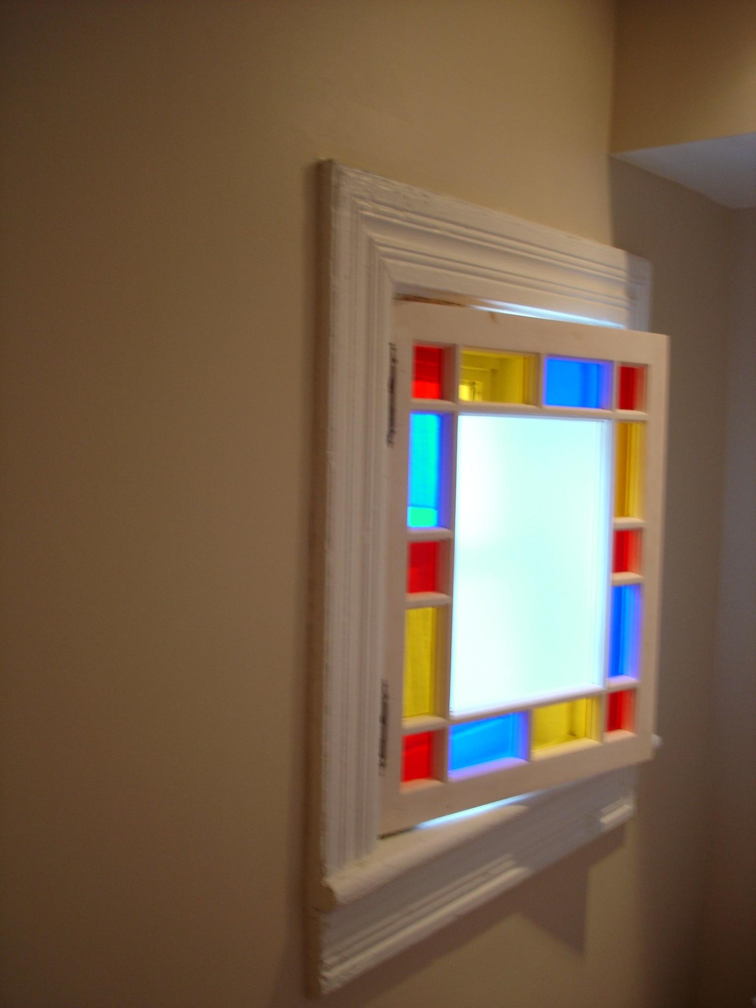 Installed window