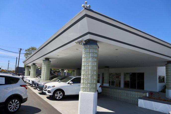Dealer Remodel parking bay