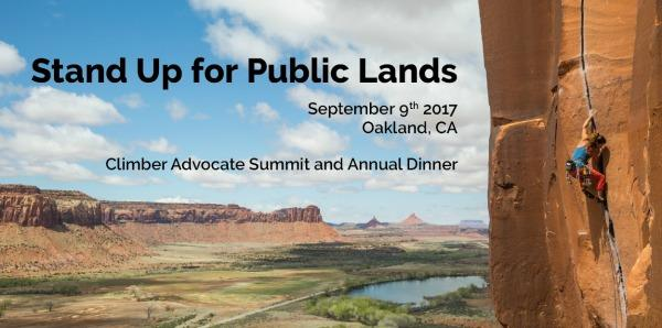 Climber Advocate Summit/Annual Dinner