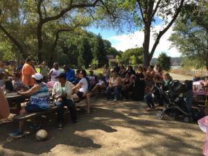 BACS staff picnic