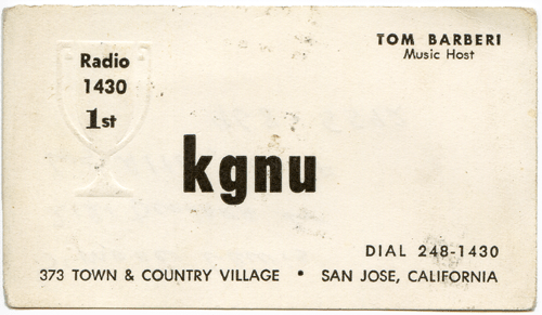 Tom Barberi - KGNU