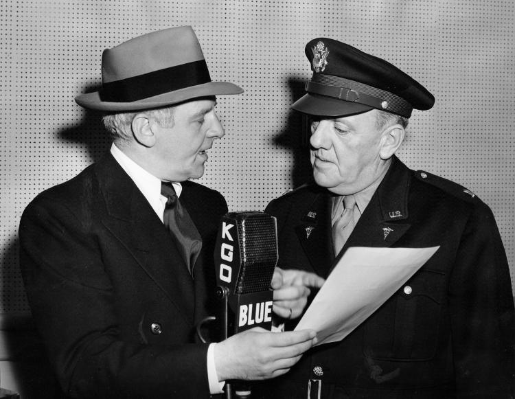 Walter Winchell and Harry Martin (KGO)