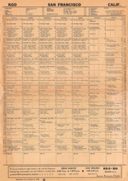 kgo_schedule_sept-25-1950_800px