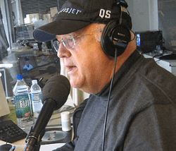 Jon Miller in the Giants radio booth (2007)