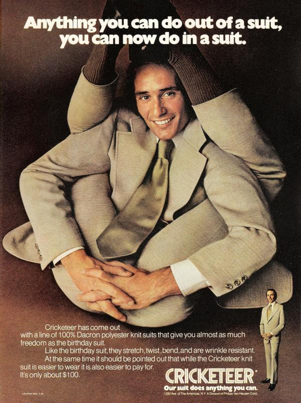 Cricketeer Suit Ad (1972)