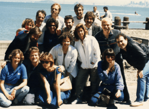 KFRC Air Team (1986 Photo)