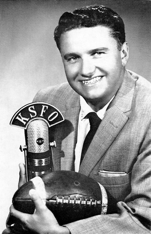 Bob Fouts Photo (KSFO, Circa 1958)