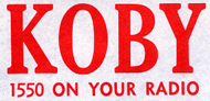 KOBY 1550 Logo (1957)