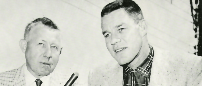 Russ Hodges and Lon Simmons (Slide)