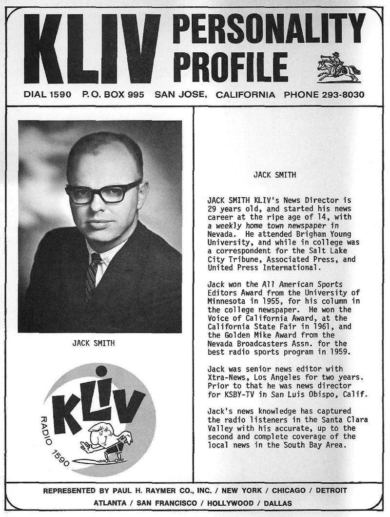 Jack Smith KLIV Profile (Image)