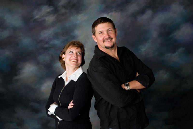 Julie Stevens and Gary Scott Thomas (KRTY Radio Photo)