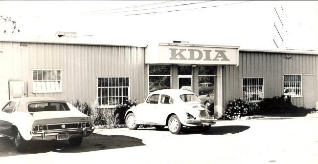 KDIA Building (1976 Photo)
