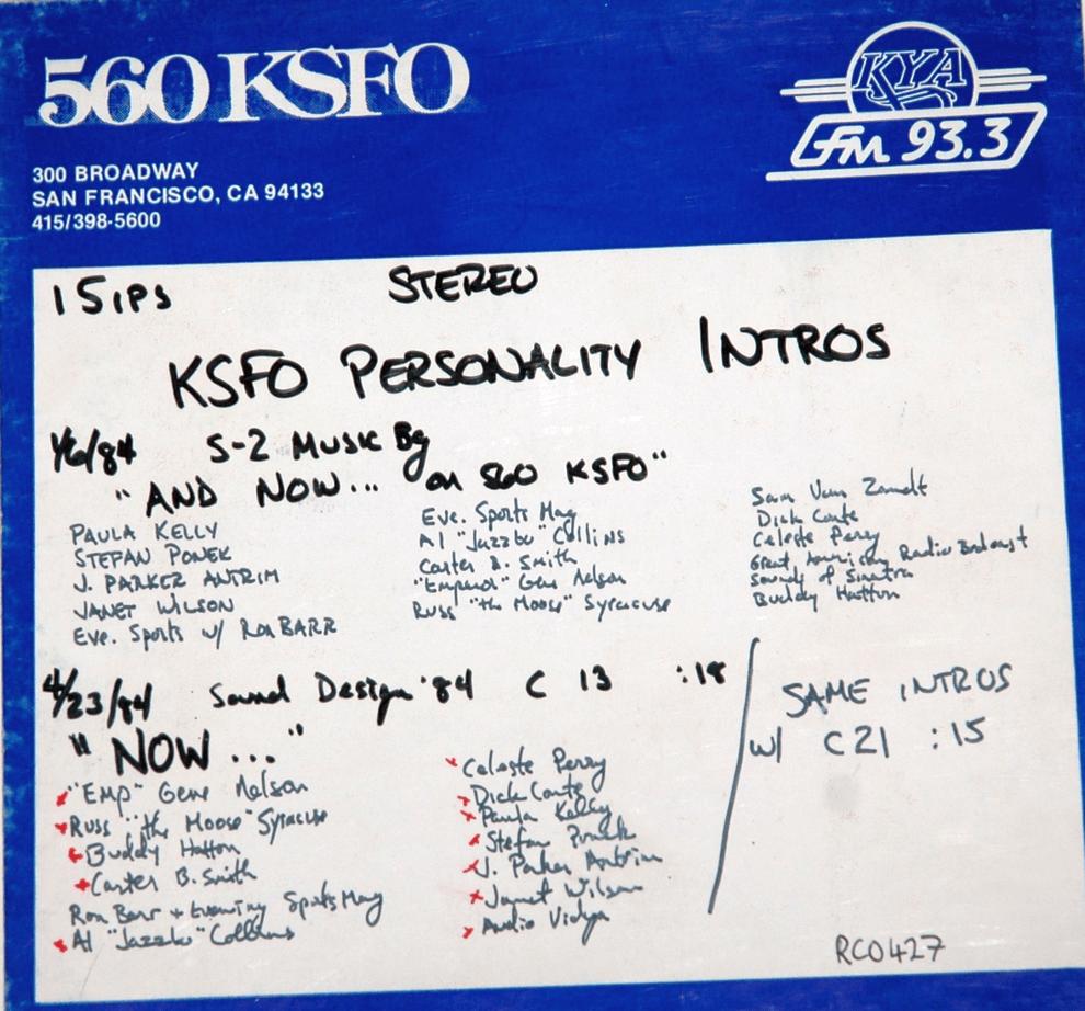 KSFO Jock Jingles Box (Image)
