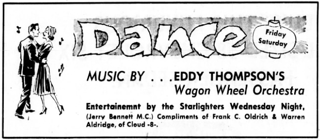Jerry Bennett Dance Ad (Image)