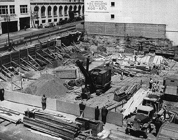 NBC Radio City Under Construction (Photo)