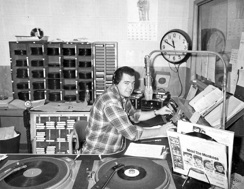 Bill Plummer (KKIS Photo, 1967)