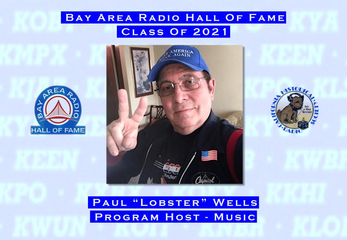 Paul Lobster Wells (BARHOF 2021)