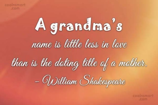 73 Most Amazing Grandmother Quotes That Will Touch Your Heart Bayart