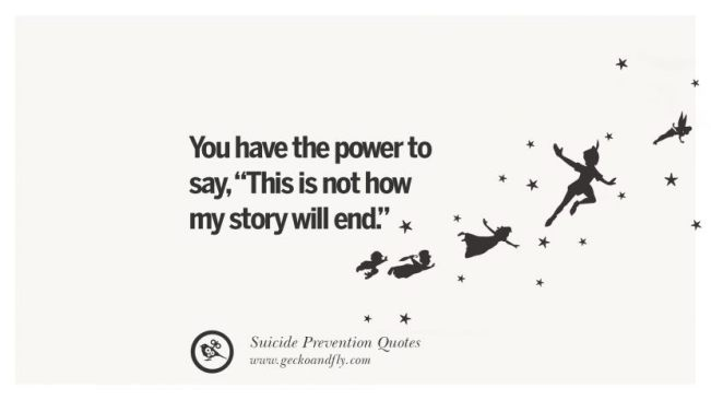 Suicide Prevention Quotes Adorable 48 Profound Suicide Awareness Quotes That You Have To Know BayArt