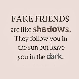 fake friends quotes images