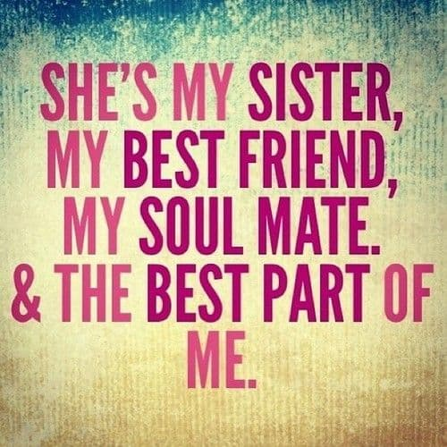 for the love of my sisters